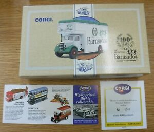 BEDFORD PANTECHNICON  by CORGI   97087 100 Years Of DR BARNARDOS,Limited Edition