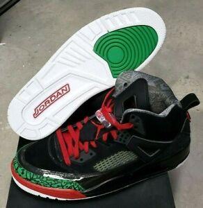 Jordan Spizike Size 12  315371 026  Black/Red/Green