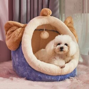 Pet Dog House Type Small Warm Cat Litter Removable Washable Bed Enclosed House