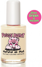 NEW PIGGY PAINT RADIOACTIVE GLOW IN THE DARK ODORLESS NAIL POLISH MAKEUP BEAUTY