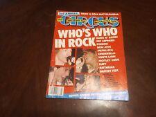 Circus Magazine Mar 1989!! Metallica,Motley Crue,Cindrella, Motley Crue,Ozzy,GnR