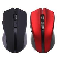 2.4G USB Wireless Optical Gaming Mouse 6 Button 2400DPI Adjustable for Laptop PC