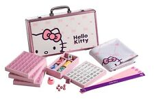 SANRIO ハローキティHello Kitty 144 Tiles Pink Aluminum Metal Case Complete Mahjong Set