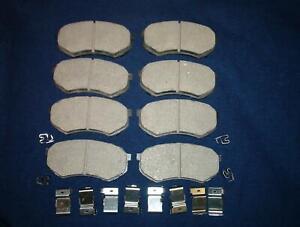 Brake pads with hardware Mitsubishi Fuso FE640 FE649 1995-2004