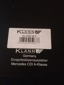 Injektorausziehwerkzeug von Klann für Mercedes A- Klasse/Vaneo CDI