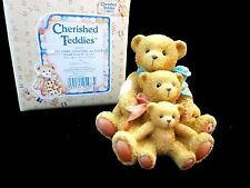 Cherished Teddies Theadore Samantha & Tyler Friends Come in All Sizes 950505