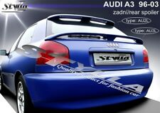 SPOILER REAR BOOT AUDI A3 WING ACCESSORIES