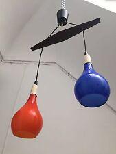 Suspension Chandelier Stilnovo  Lamp  Vistosi Vignelli Lelli Arredoluce 60s 70s
