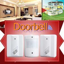 WirelessInfraredDoorbell AlertMotionSensor Enter Bell Detertor Chime Alarm