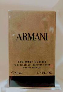 ❤️ARMANI EAU POUR HOMME,GIORGIO ARMANI,1.7 OZ 50ML.DISCONTINUED!