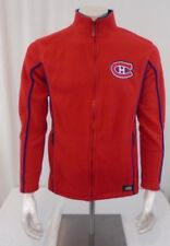 Montreal Canadians Small Red Fleece Zipper Front Unisex  NHL Sport Jacket
