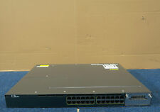 Cisco WS-C3560X-24P-L Catalyst 24 Port Managed PoE Gigabit Ethernet Switch