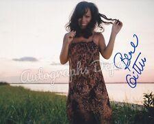 Brazilian Legendary Singer BEBEL GILBERTO signed photograph - REAL! / IN-PERSON!