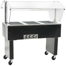 Eagle Group Deluxe Serving Mate 3-Well Electric Hot Food Table / Buffet - BPDHT3