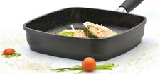 """Eurocast Professional Cookware 11"""" Jumbo Grill Pan/Removable Handle"""