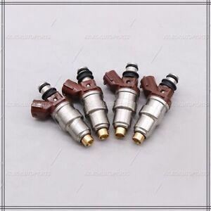Set of 4 Fuel Injectors For Toyota Tacoma 2.7L 1995-2000 #23250-75050