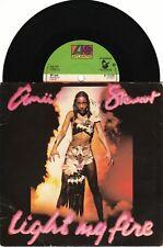 "Amii Stewart Light My Fire 7"" Picture Sleeve UK K11278 ATLANTIC 1979"