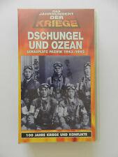 VHS Video Kassette Dschungel und Ozean Pazifik Das Jahrhundert der Kriege