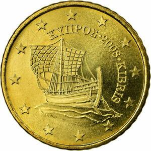 [#721264] Chypre, 50 Euro Cent, 2008, TTB, Laiton, KM:83