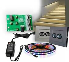 AUTOMATIC LED STAIRS CONTROLLER RGB / SINGLE COLOR TYPE