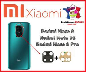 Xiaomi Redmi Note 9-9S-9 pro Per - Lente Posteriore Camera Fotografica Vetro