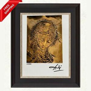 Salvador Dali -Raphaelesque Head Exploding, Original Hand Signed Print with COA