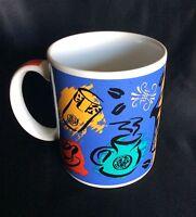 STARBUCKS Coffee Mug Primary Colors  12 Fluid Oz. Collectible