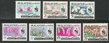 Malaysia Negri Sembilan #78-82 (A14) VF MVLH - 1965 1c to 20c Flowers / Orchids