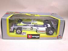 BURAGO 6105 moulé sous pression échelle 1/24 WILLIAMS FW 08 C Turbo, voiture de course.. New boxed.