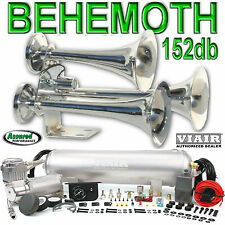 BEHEMOTH TRAIN AIR HORN 152db VIAIR 275c Compressor kit