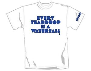 COLDPLAY- EVERY TEARDROP Official T Shirt Mens Licensed Merch New
