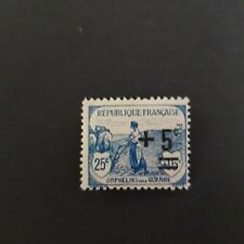FRANCE TIMBRE N°165 NEUF * MH COTE 2,80€ (ORPHELINS DE GUERRE)