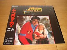 Michael Jackson Moonwalker Laser Disc Laserdisc Japón encogimiento Mega Raro