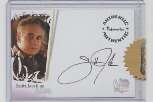 Charmed Destiny Autograph Trading Card Scott Jaeck as Sam (Razor)