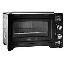 "Onyx Convection Toaster Oven 12"" 9 Function 1800 Watt Even Heat Technology Black"