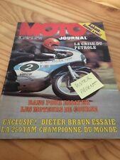 MOTO JOURNAL 1973 N° 148 Husqvarna Fenouil en Afrique , Yamaha 250 Dieter Braun
