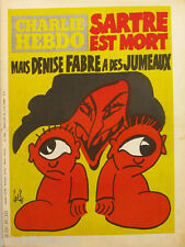 Charlie Hebdo N°493-23 AVRIL 1980//occasion..déjà lu