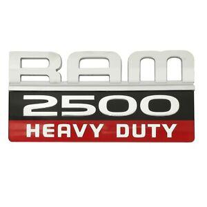 07-12 RAM 2500 HEAVY DUTY DOOR EMBLEM NAMEPLATE BADGE OEM NEW MOPAR 55372616AC