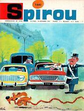 ▬► Spirou Hebdo - n°1440 du 18 Novembre 1965 - SANS mini-récit TBE