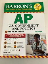 NEW BARRON'S AP U.S. GOVERNMENT AND POLITICS WORKBOOK LEADER IN TEST PREPARATION