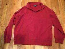 Men's Ralph Lauren Polo 1/4 Button Pullover Pony Logo Size Medium