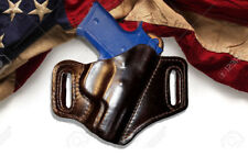 Custom 100% Leather Saddle Holster, MADE IN AMERICA