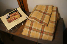 Unused Eddie Bauer Twin Bed Flannel Plaid Sheets Sheet Set