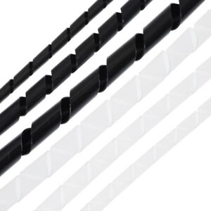 Spiral Kabelschlauch Spiralschlauch Kabelspirale Spiralband Kabelmanagement 10m