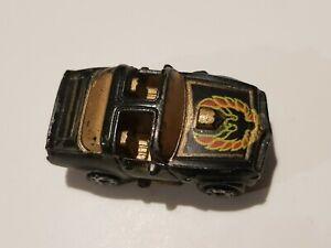 Micro Machines Pontiac Trans Am Black Bandit Gold