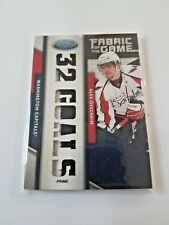 11-12 Certified Fabric of The Game Game Used Jersey ALEXANDER OVECHKIN PRIME 5/5