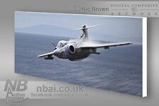 Blackburn Buccaneer S.2B 12squadron CANVAS PRINT, Digital Artwork.