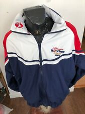 MENS Large Rugby Zip Front Jacket Millennium World Rugby Classic Bermuda