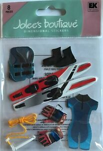 """Jolee's Boutique """"Water Skiing"""" Dimensional Stickers"""