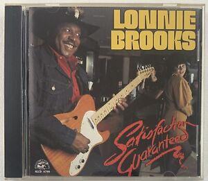 LONNIE BROOKS Satisfaction Guaranteed CD 1991 Alligator Records ALCD 4799 Blues